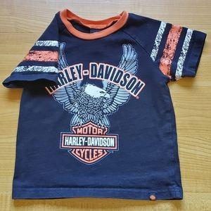 4t boys Harley Davidson Tshirt